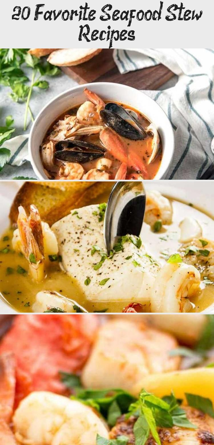20 Favorite Seafood Stew Recipes - Recipes #seafoodstew
