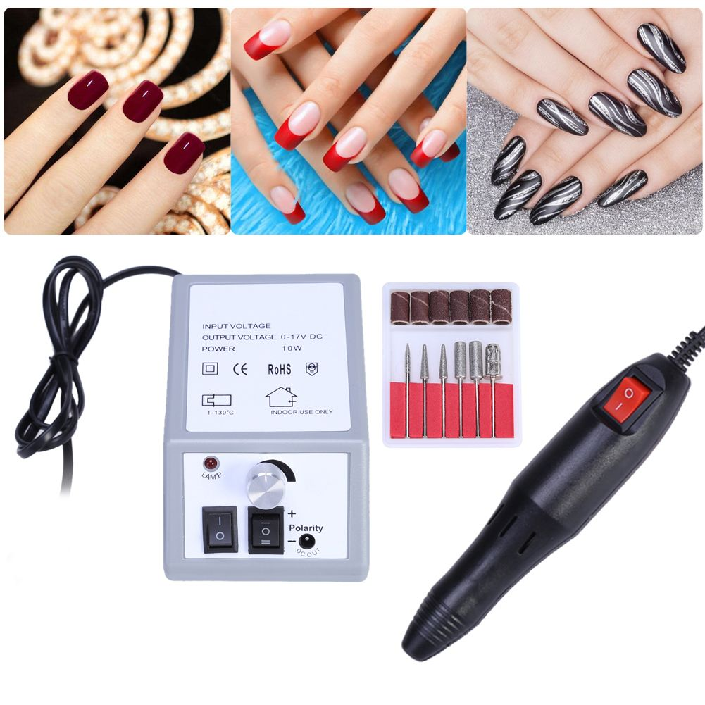 Free Shipping] Buy Best Nail Art Drill Professional Electric Machine ...