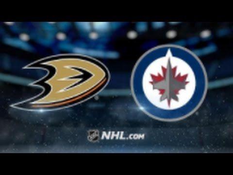 Anaheim Ducks vs Winnipeg Jets NHL Game Recap