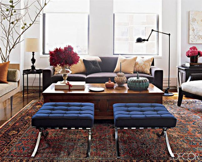 Modern Furniture With Oriental Rug persian rug & modern furniture | living spaces | pinterest