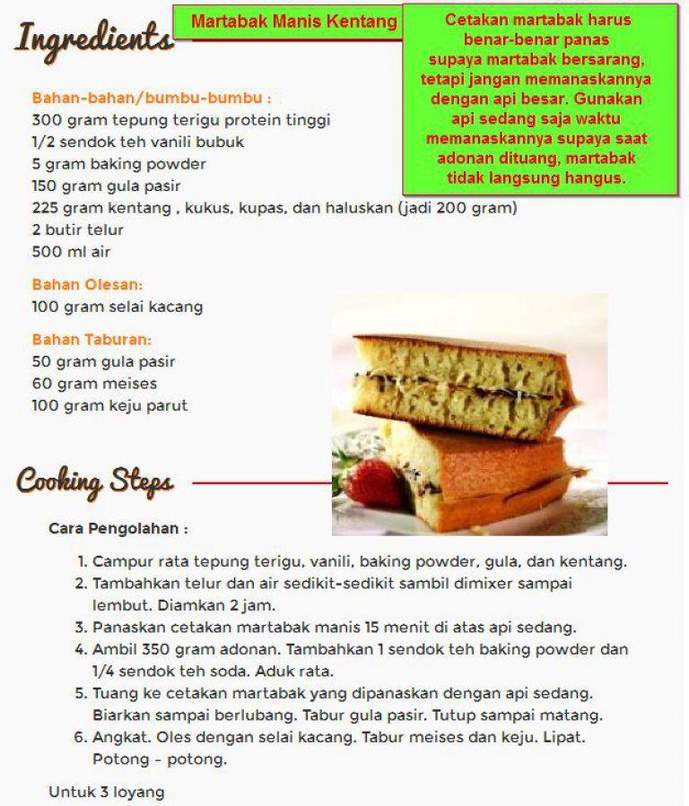 7 Resep Martabak Manis Mini Super Enak Mudah Dibuat Food Beef Tiramisu