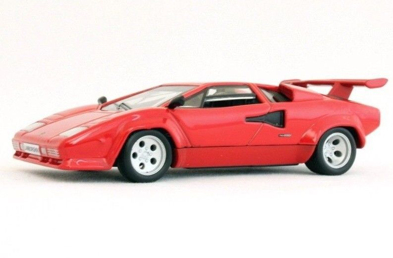 Lamborghini Countach Lp500s Red Sollection Diecast Model Car 1 43 Scale 1982 Supercars Lamborghini Diecast Model Cars Diecast Cars Lamborghini Countach