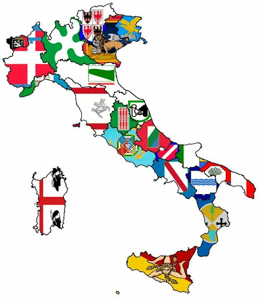 "Italian Italy Italia Flag 24/""x36/"" Canvas Wall Art Print"