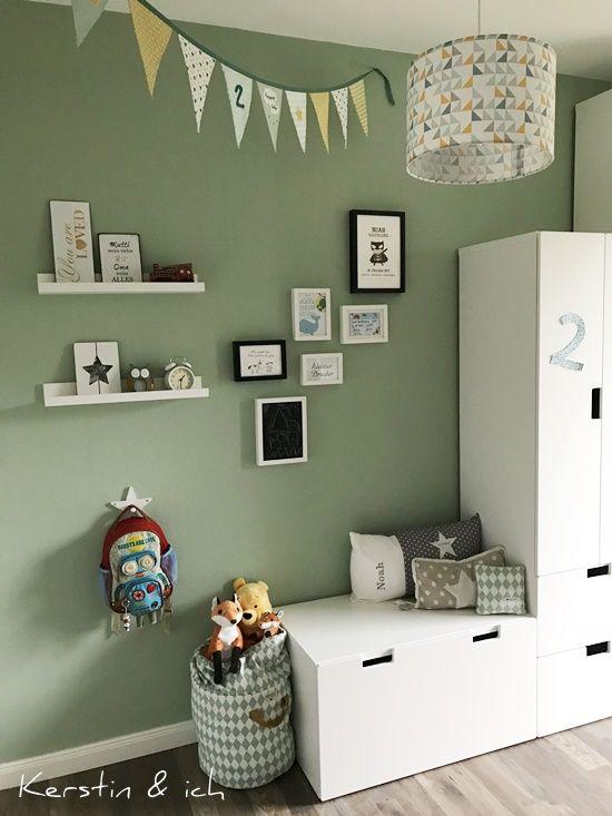 Kinderzimmer Junge Mintfarben Deko