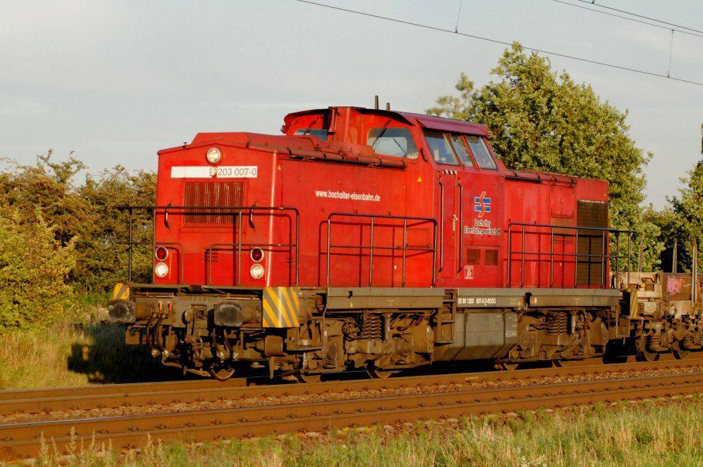 203 007-0 Bocholter Eisenbahn