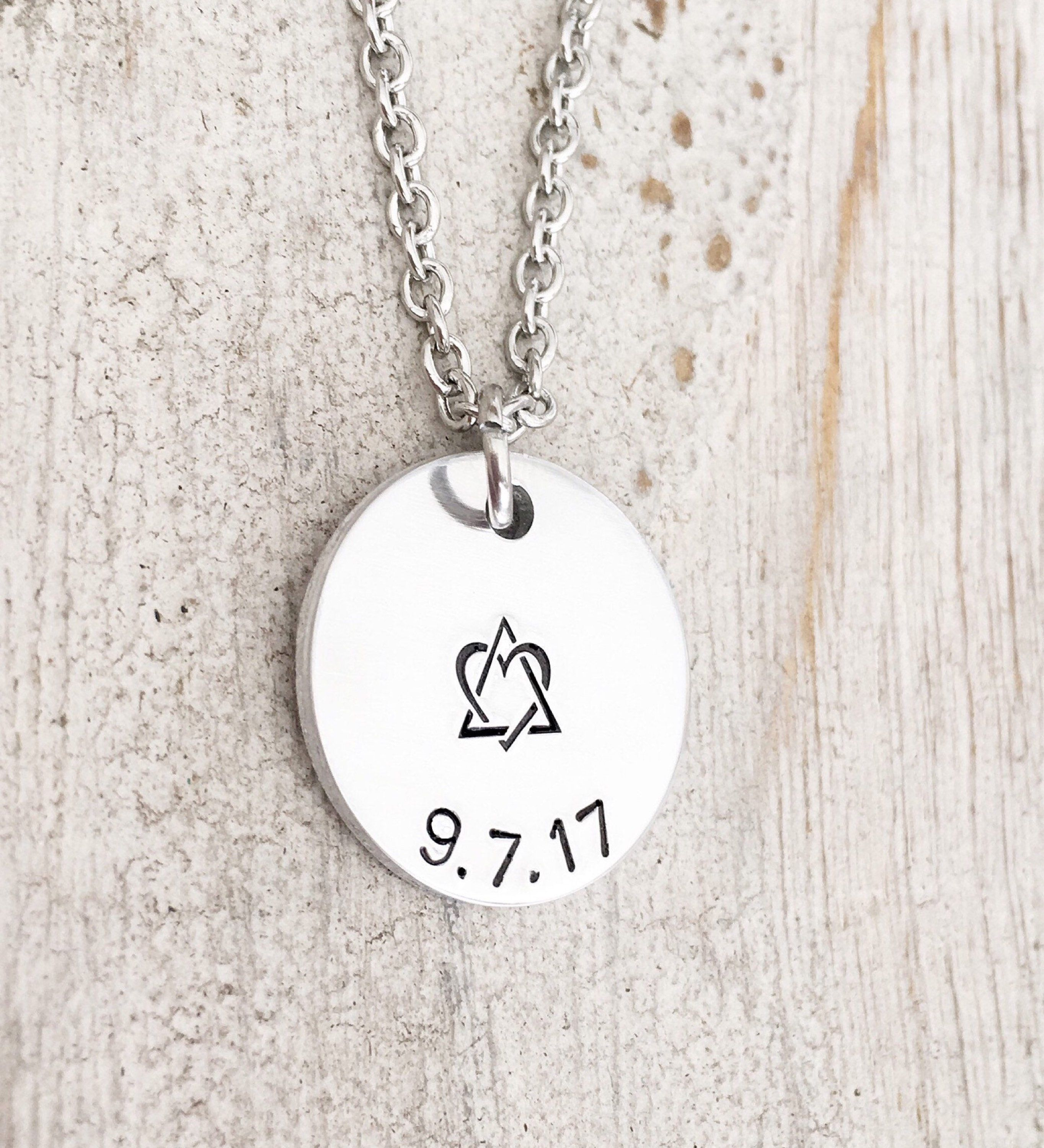 Adoption jewelry adoptive mom necklace gift for adoption adoption jewelry adoptive mom necklace gift for adoption birthmom foster parent adoption symbol buycottarizona Image collections