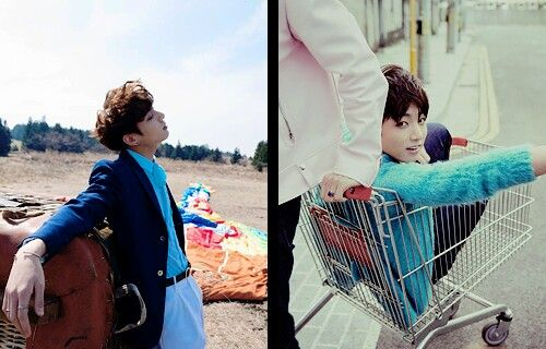 BTS The Most Beautiful Moment in Life (화양연화) Photoshoot vs Young Forever Photoshoot | Jungkook