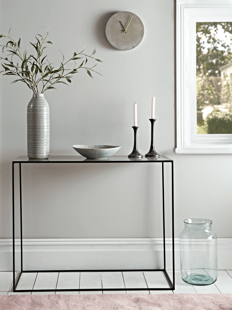 Small Narrow Console Table 11