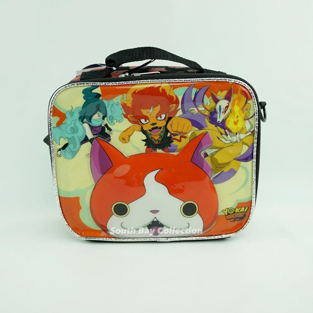 Yokai Watch Lunch Box Bag for Kids Boys Yo-Kai Video Game Themed Lunchbox  Soft  YokaiWatch  LunchBag 699584c984327