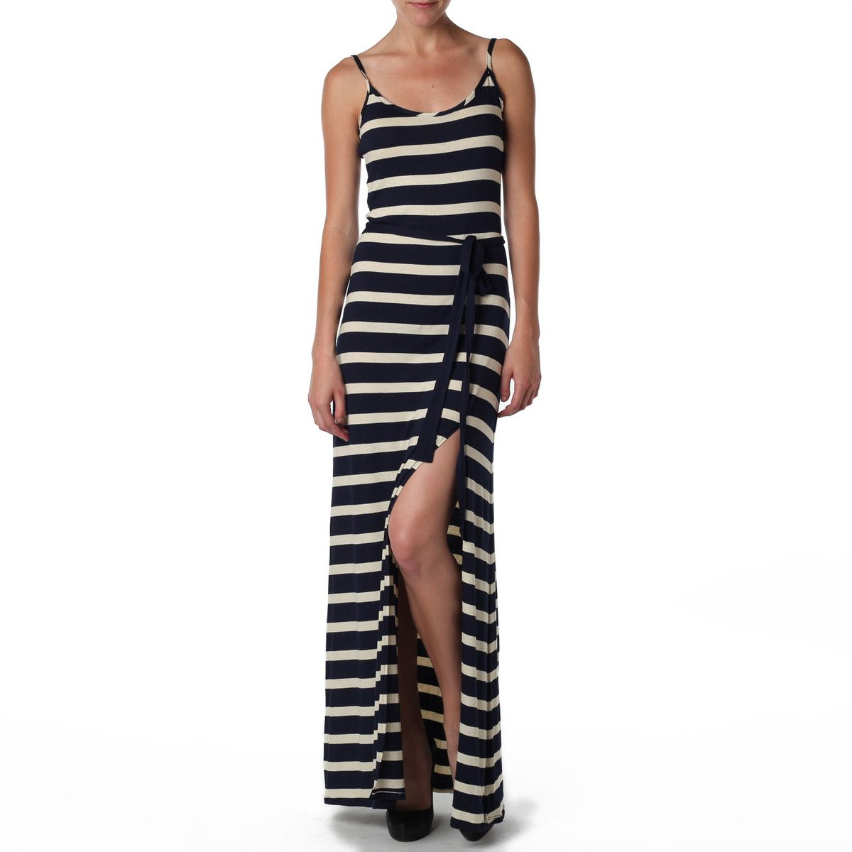 Side slit cami maxi lamade love the ease of this that side slit