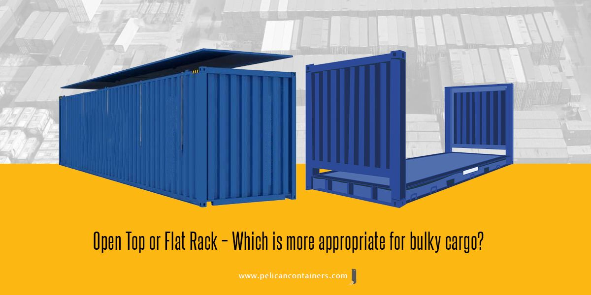When It Comes To Choosing A Shipping Container People Are Often Confused About What Type Shipping Containers For Sale Flat Rack Container Containers For Sale