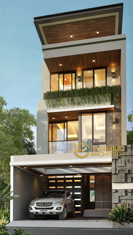 Desain Rumah Bapak Yonatan Di Jakarta Desain Depan Rumah Desain Rumah Eksterior Rumah Arsitektur