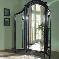 Furniture Seven Seas Free Standing Tri Fold Mirror