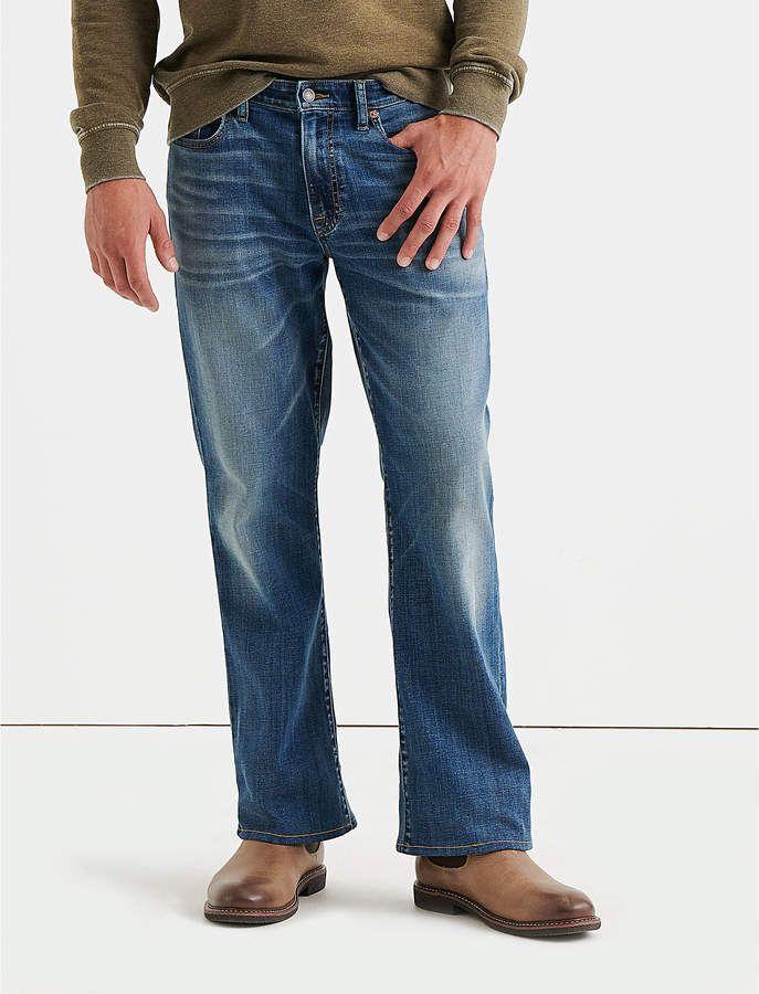 Lucky Brand Men/'s 367 Vintage Boot Coolmax All Season Technology Jean