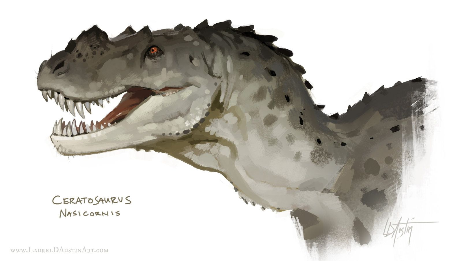 Ceratosaurus with Process Video, Laurel D Austin on ArtStation at http://www.artstation.com/artwork/ceratosaurus-with-process-video