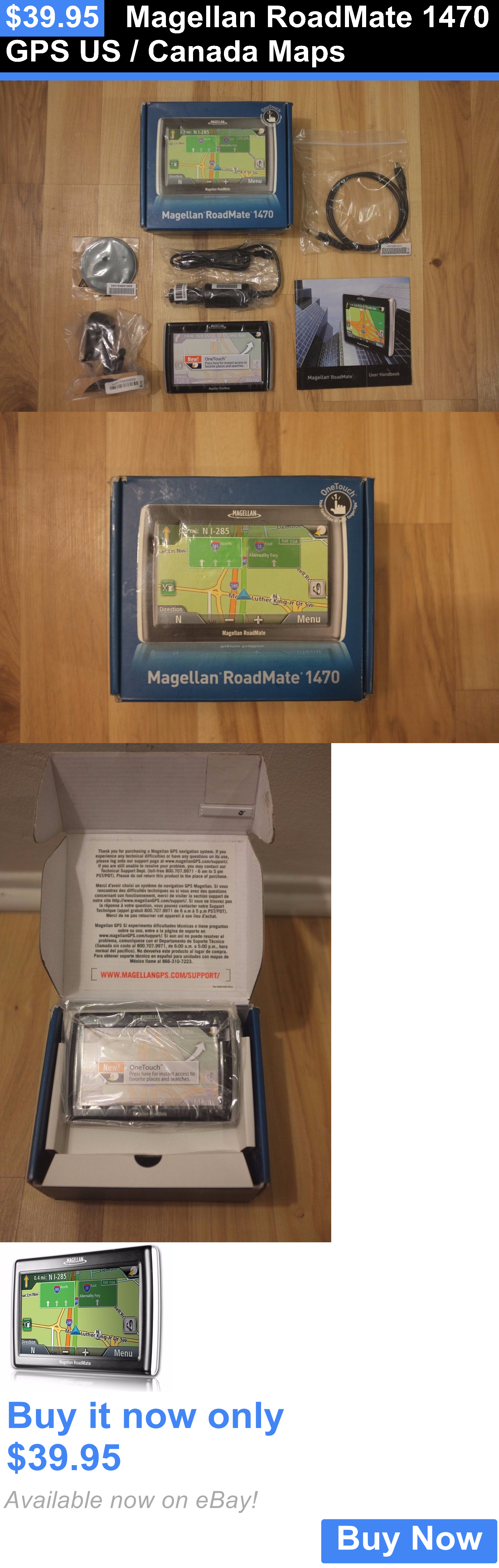 GPS Chargers And Batteries Magellan Roadmate Gps Us Canada - How to use both us and canada maps in gps