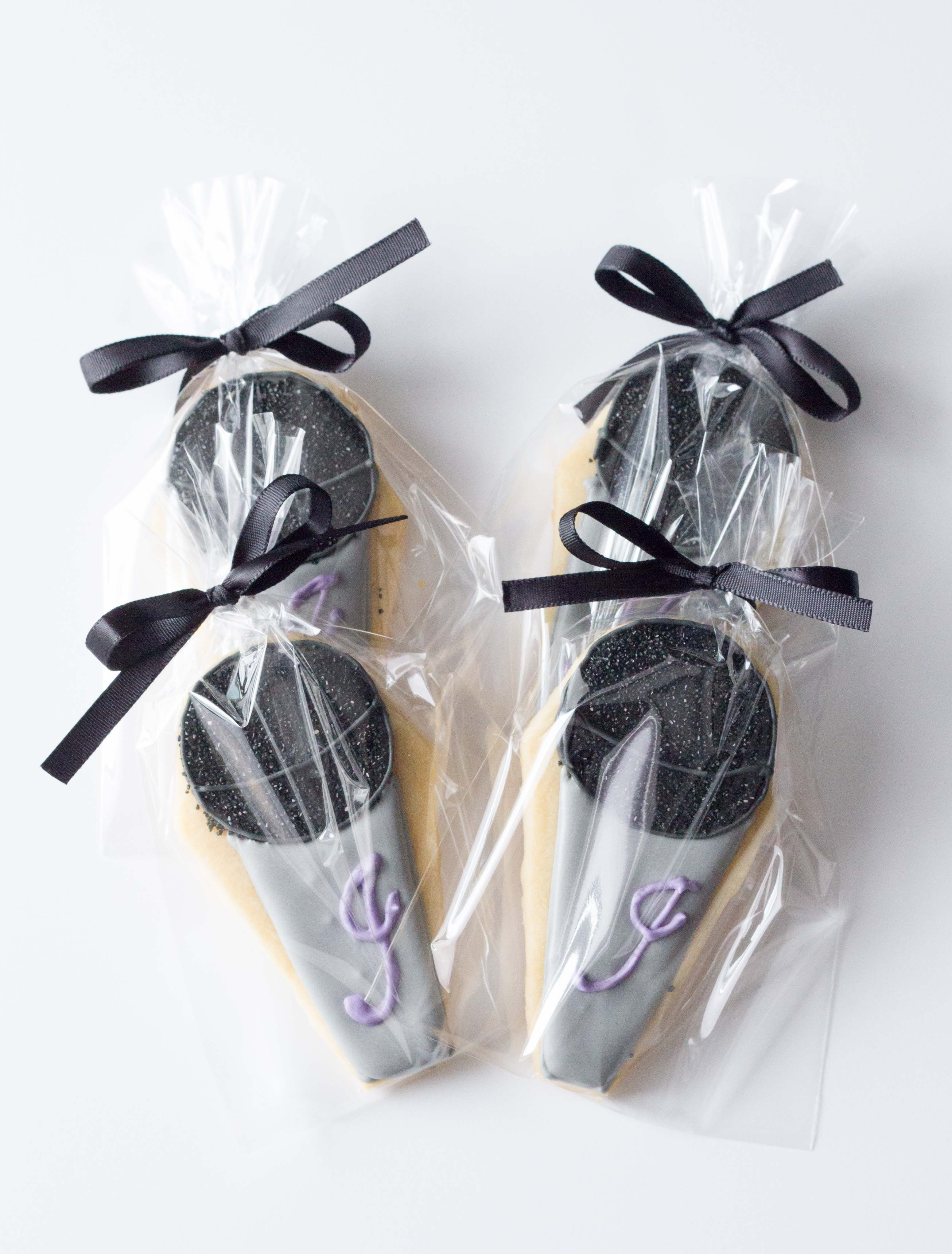 microphone sugar cookies with monogram, cookie favors, rock and roll ...