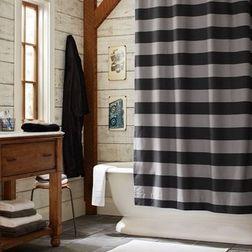 Big Boy Bathroom Eclectic Shower Curtains Striped Shower Curtains Boys Bathroom
