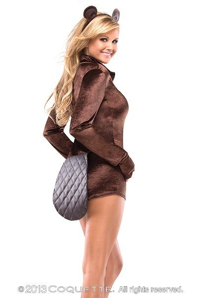 3 PC Sexy Big Brown Beaver Costume @ Amiclubwear costume ...