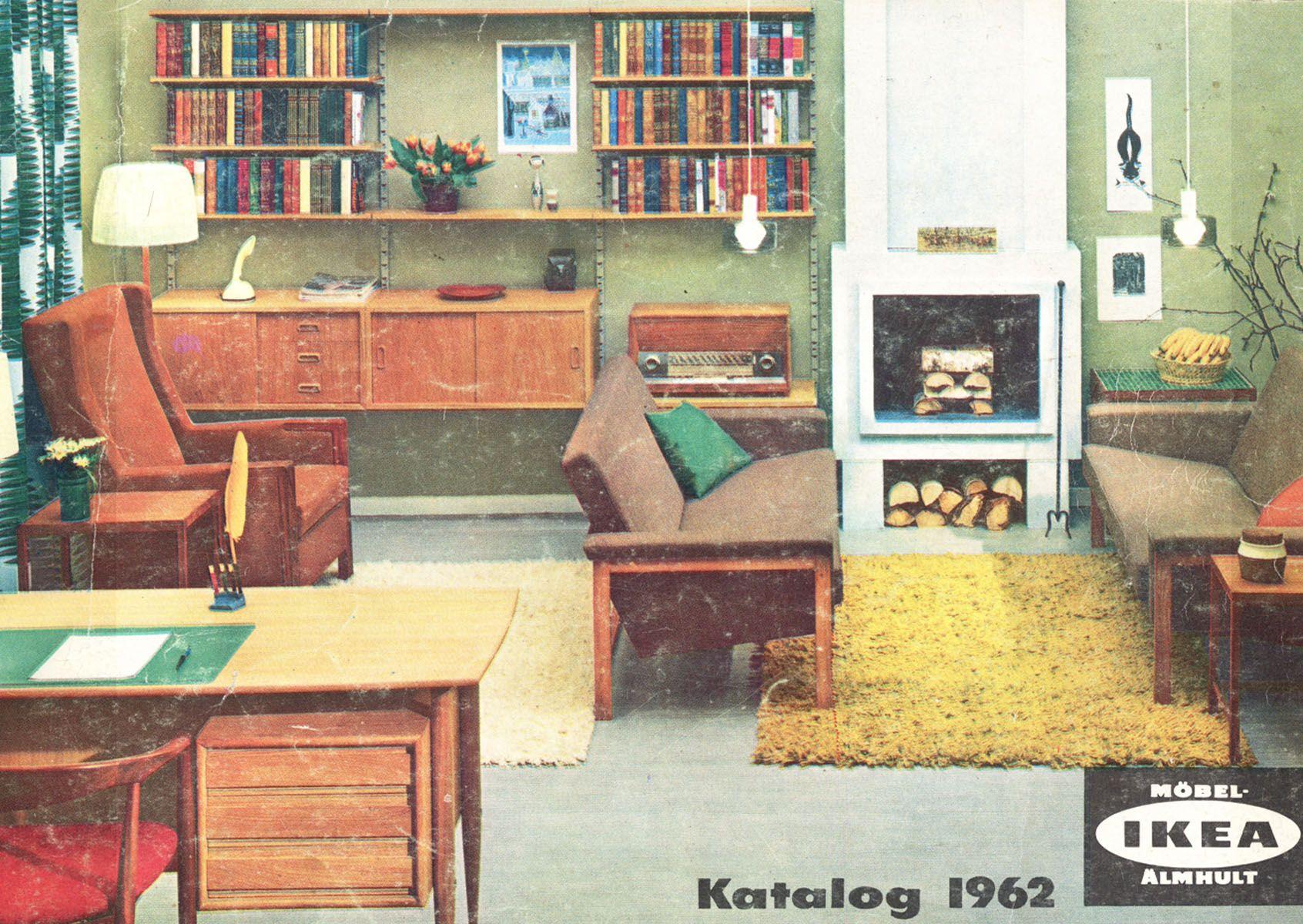 Vintage Ikea Ikea 1962  Ikea Catalogue Covers  Pinterest  Catalog Cover