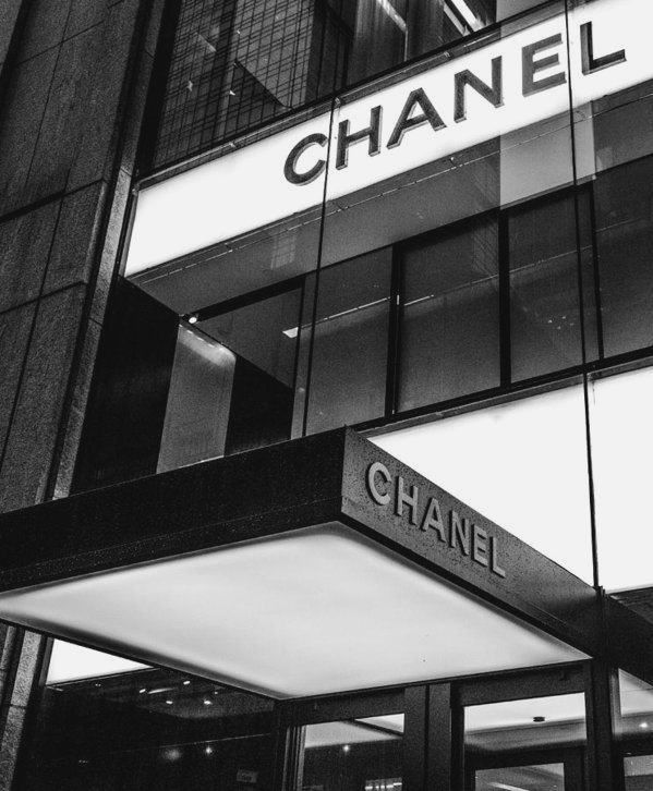 Chanel Fifth Avenue Art Print by William  Carson Jr - #blackandwhitephotography