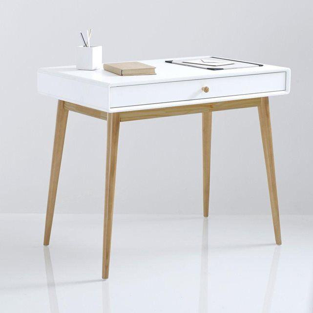 bureau 1 tiroir jimi la redoute interieurs la redoute et tiroir. Black Bedroom Furniture Sets. Home Design Ideas