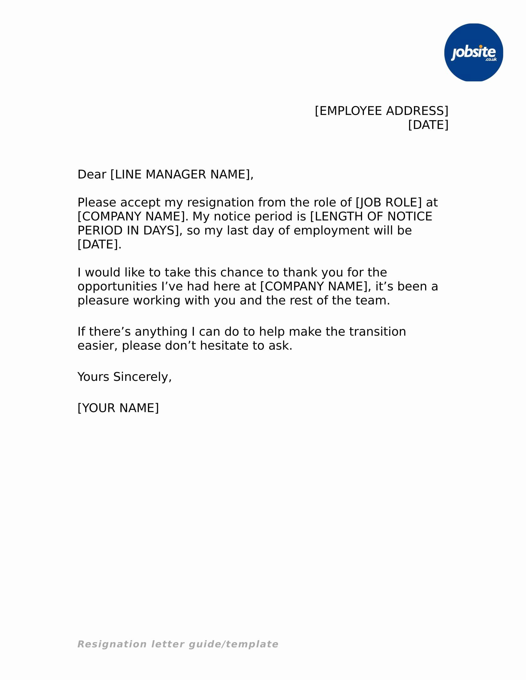 Resignation Letter Formats Pdf from i.pinimg.com