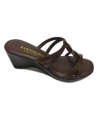This Brown Medallion Sandal is perfect! #zulilyfinds