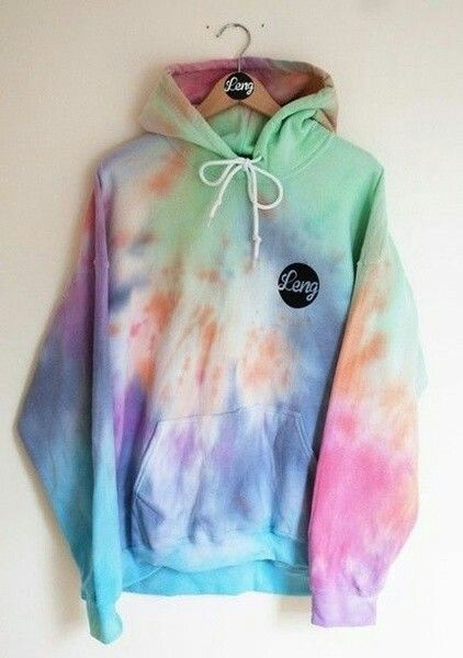 236bda35 Tie Dye Hoodie Sweatshirt from Wish, $13 | Clothes Outfits and ...