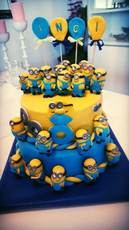 minions torte torten pinterest. Black Bedroom Furniture Sets. Home Design Ideas