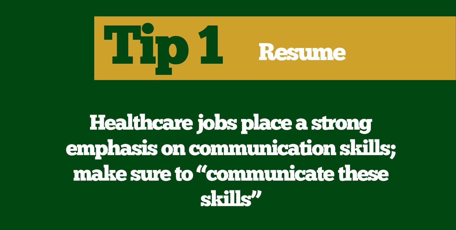 Resume tip from the CSU Career Center in 2020 Resume