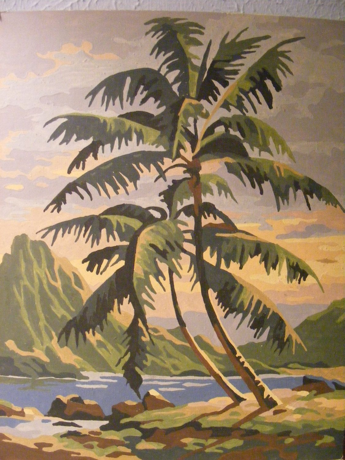 Beautiful Tropical Paint by Number
