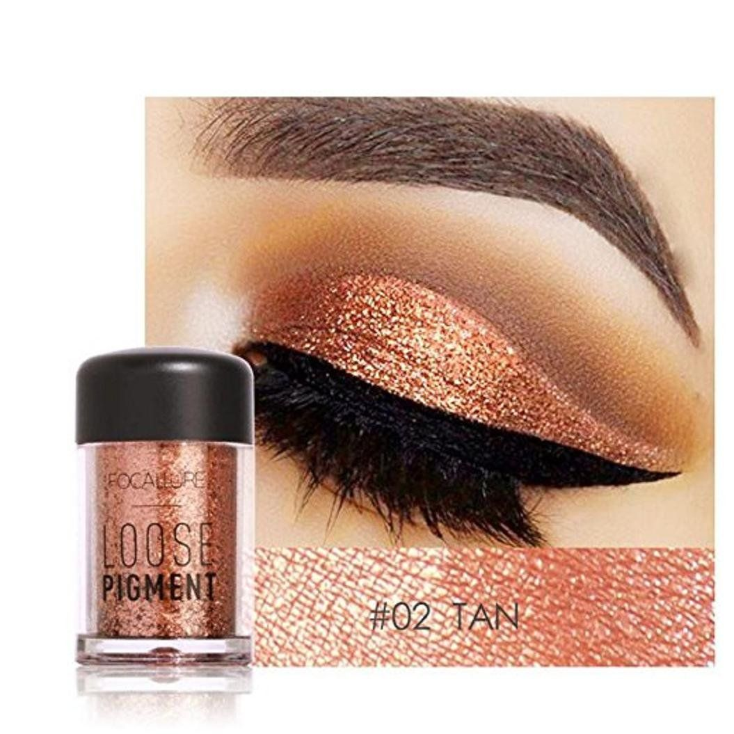 Glitter Loose Makeup Eye Shadow Dust Powder FirstFly 12