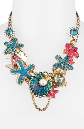 Betsey Johnson Jewelry Clearance : betsey, johnson, jewelry, clearance, Betsey, Johnson, Excursion', Charm, Necklace, Nordstrom, Necklace,, Johnson,, Jewelry