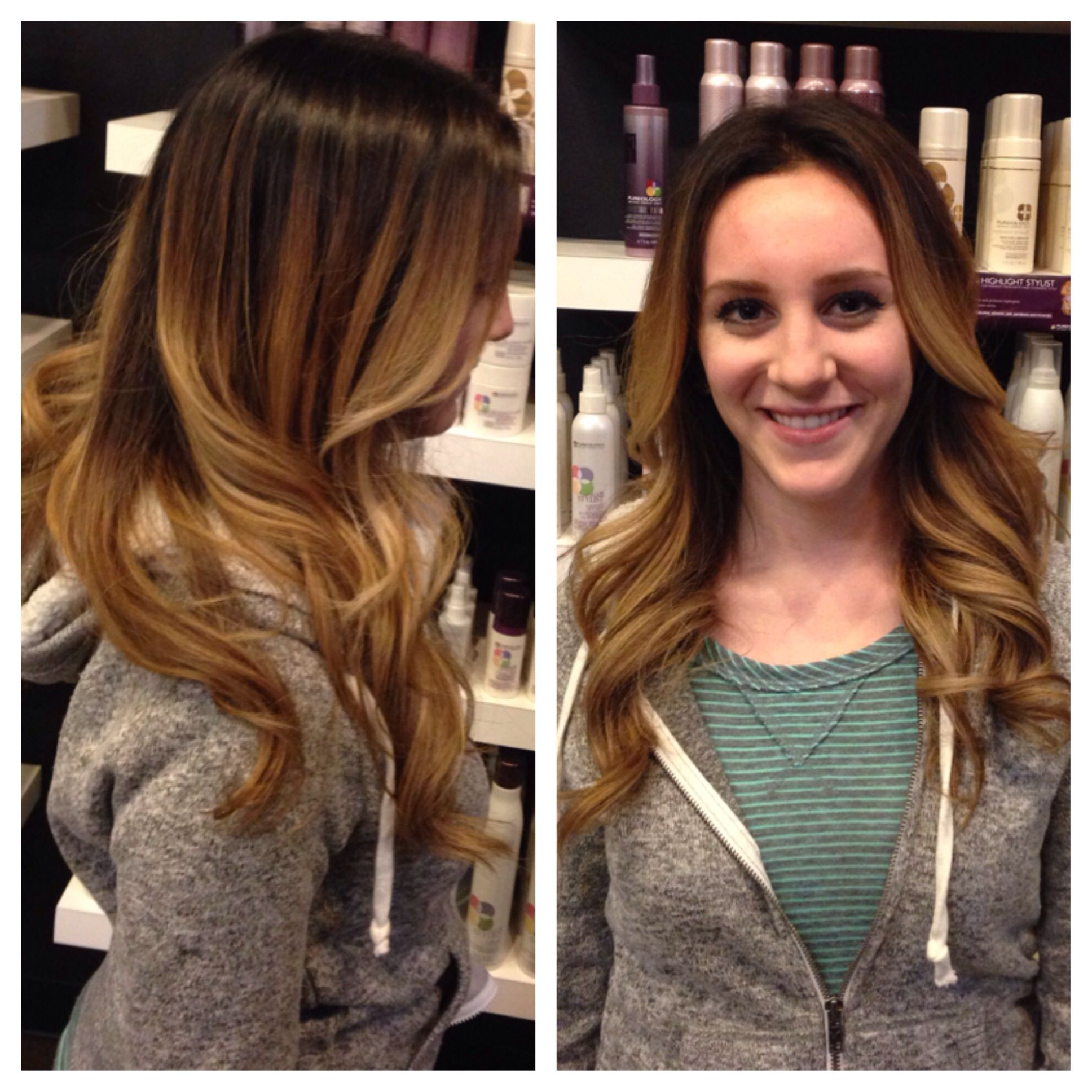 prom hair styles for high contrast ombre my creations high 6553