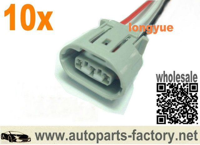 e6553ed69ee89321a8ba883c4d85b60e gm alternator repair sockets oval 3 pin female terminals pigtail 4 wire harness connector at bayanpartner.co