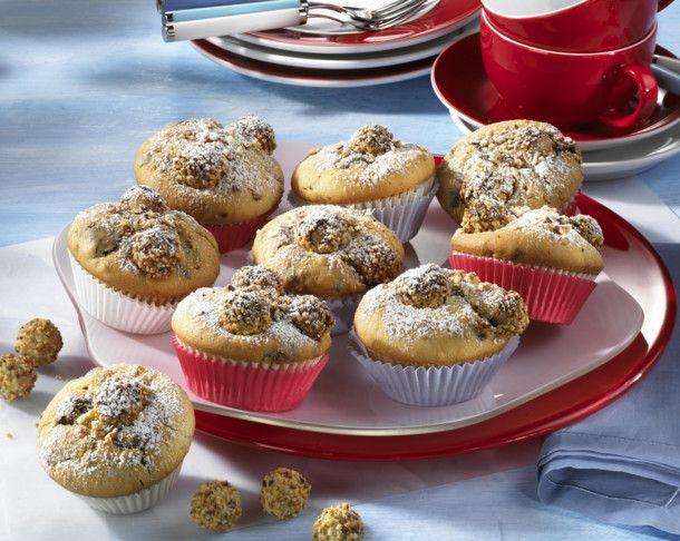 Giotto-Muffins Rezept  | LECKER #pumpkinmuffins