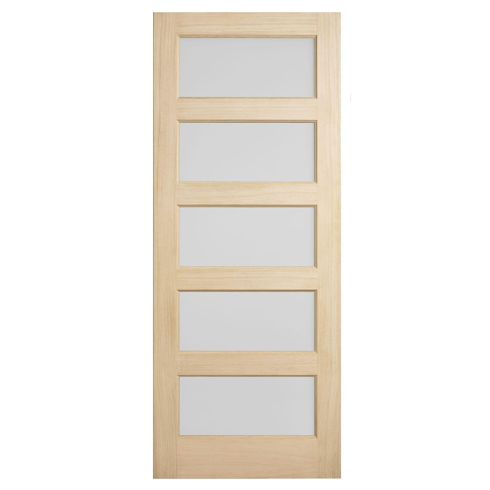 Maple Doors Bunnings Woodcraft Doors 2040 X 820 X 35mm One Lite Frosted Laminated Glass Internal Door Sc 1 Th 225