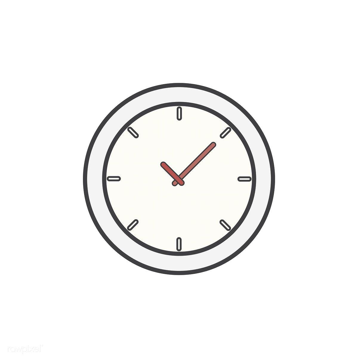Illustration Of Clock Icon Free Image By Rawpixel Com Clock Icon Icon Phone Icon
