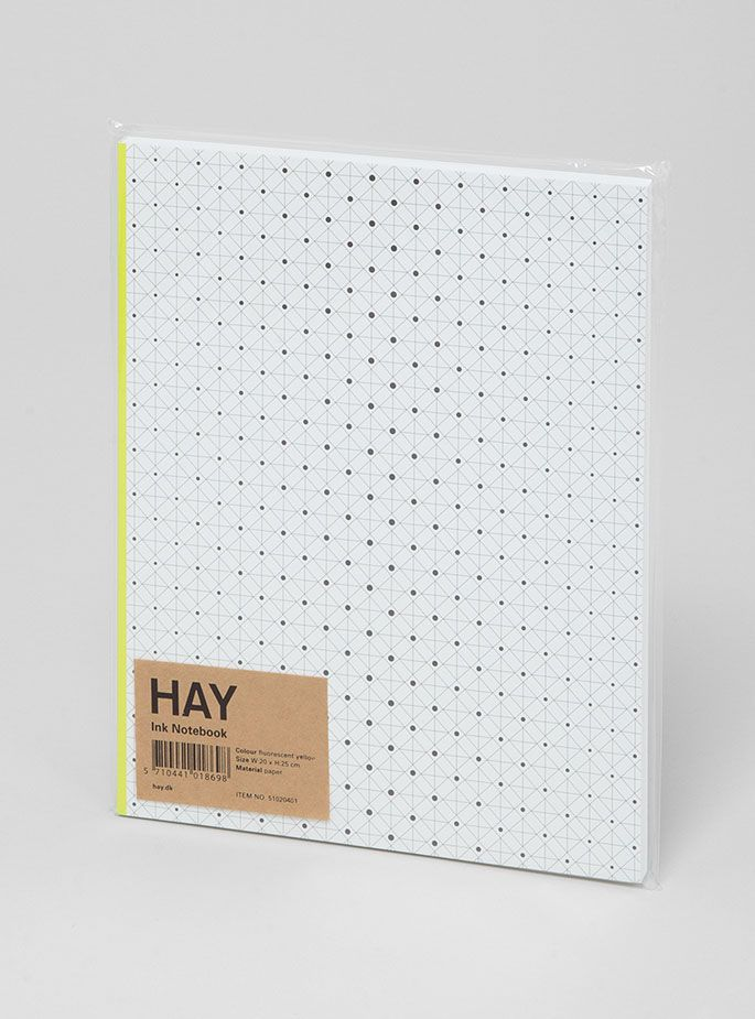 24830feb Couverture and The Garbstore - Homeware - Hay - Ink Notebook | i ...