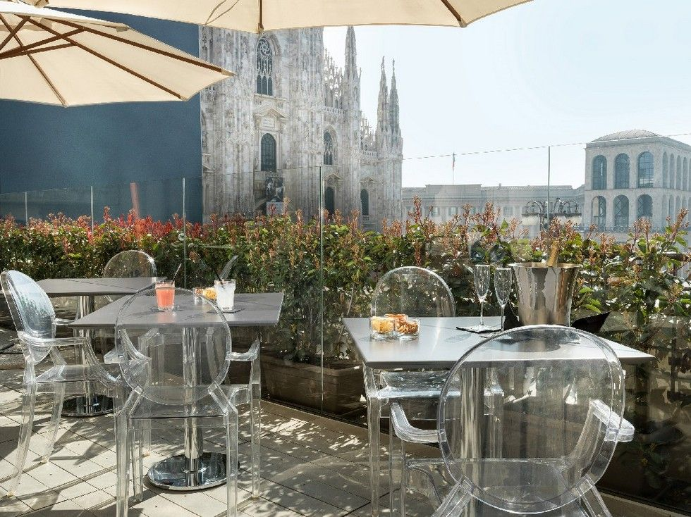 Where To Go In Milan Terrazza Duomo 21 Bar Milan Duomo