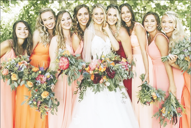 Wedding Color Trends for 2022 in 2020 Wedding color