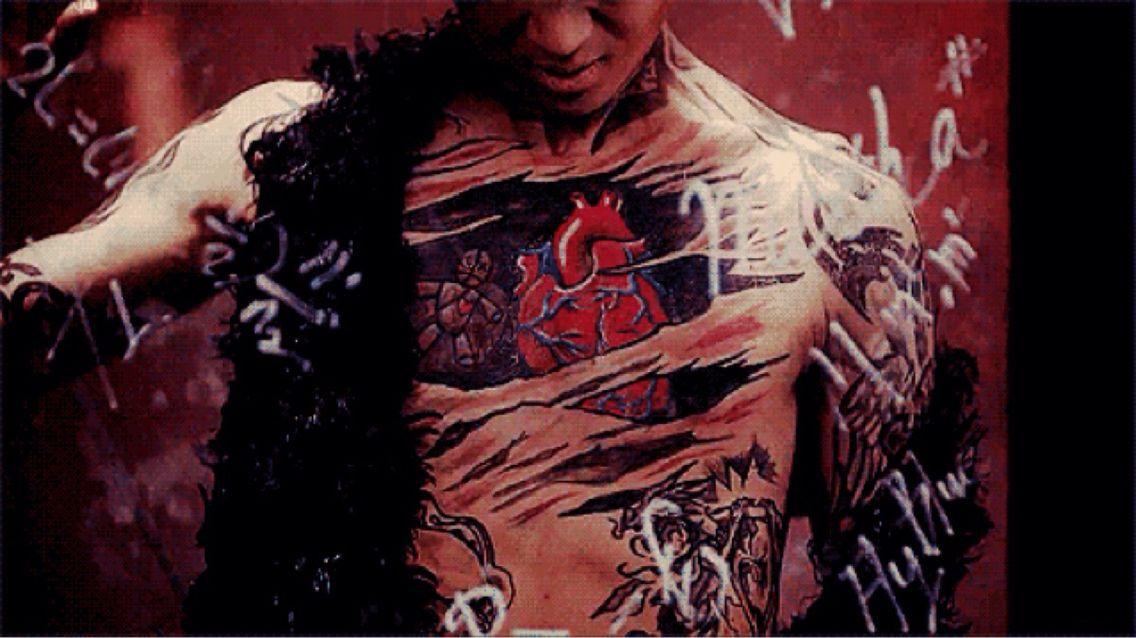 Vixx Voodoo Doll Ravi Ravi's tattoos on VOOD...