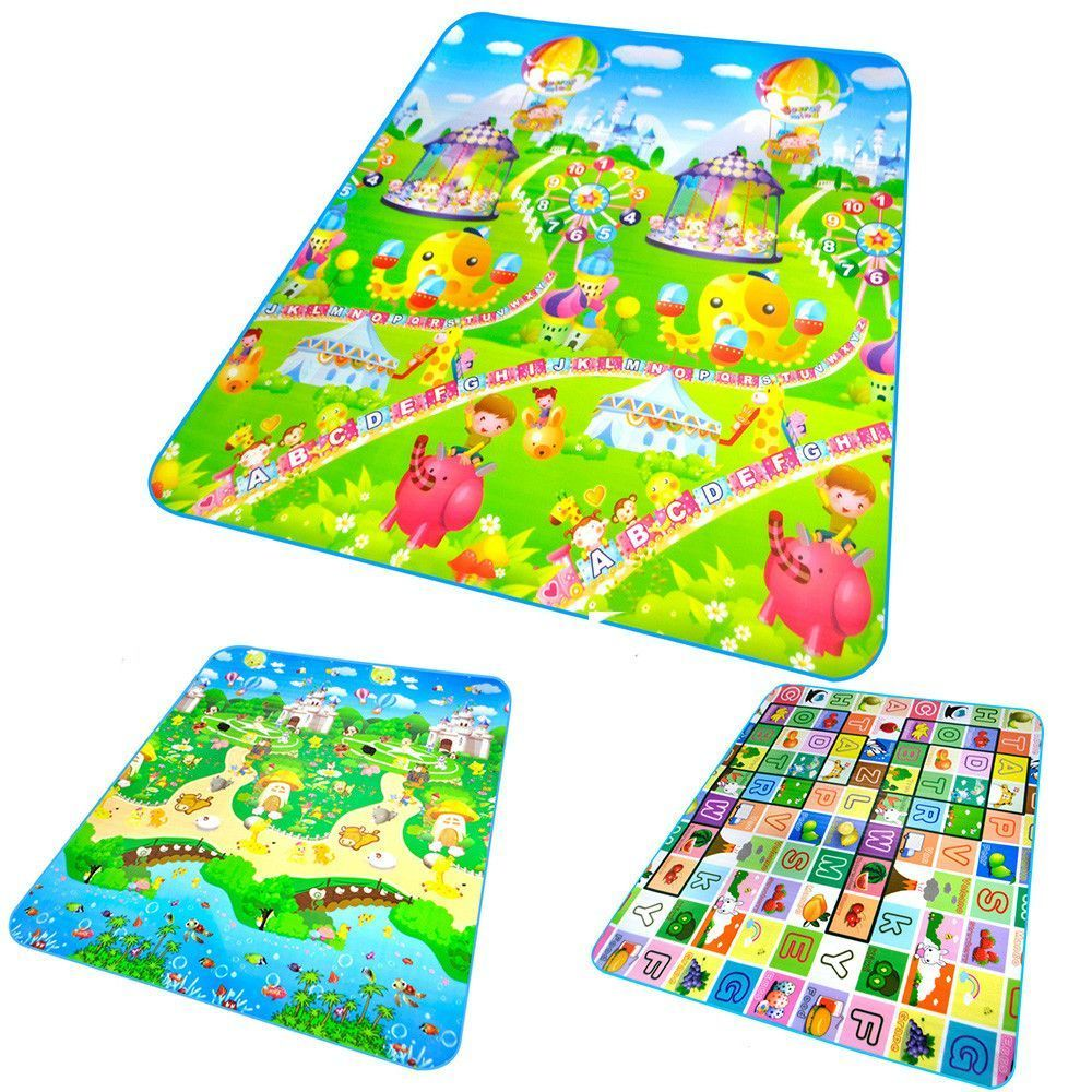 Rug-puzzle for children: development through the game