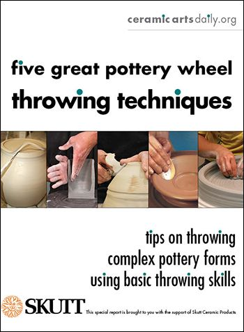 Free PDF download! Full of great pottery techniques, as well as ideas you can apply to any pottery project, these step-by-step wheel-throwing instructions will help you improve your pottery throwing skills from concept through completion. For a tool that really does one thing (spins in a circle), the number of techniques and results possible on... Read More »