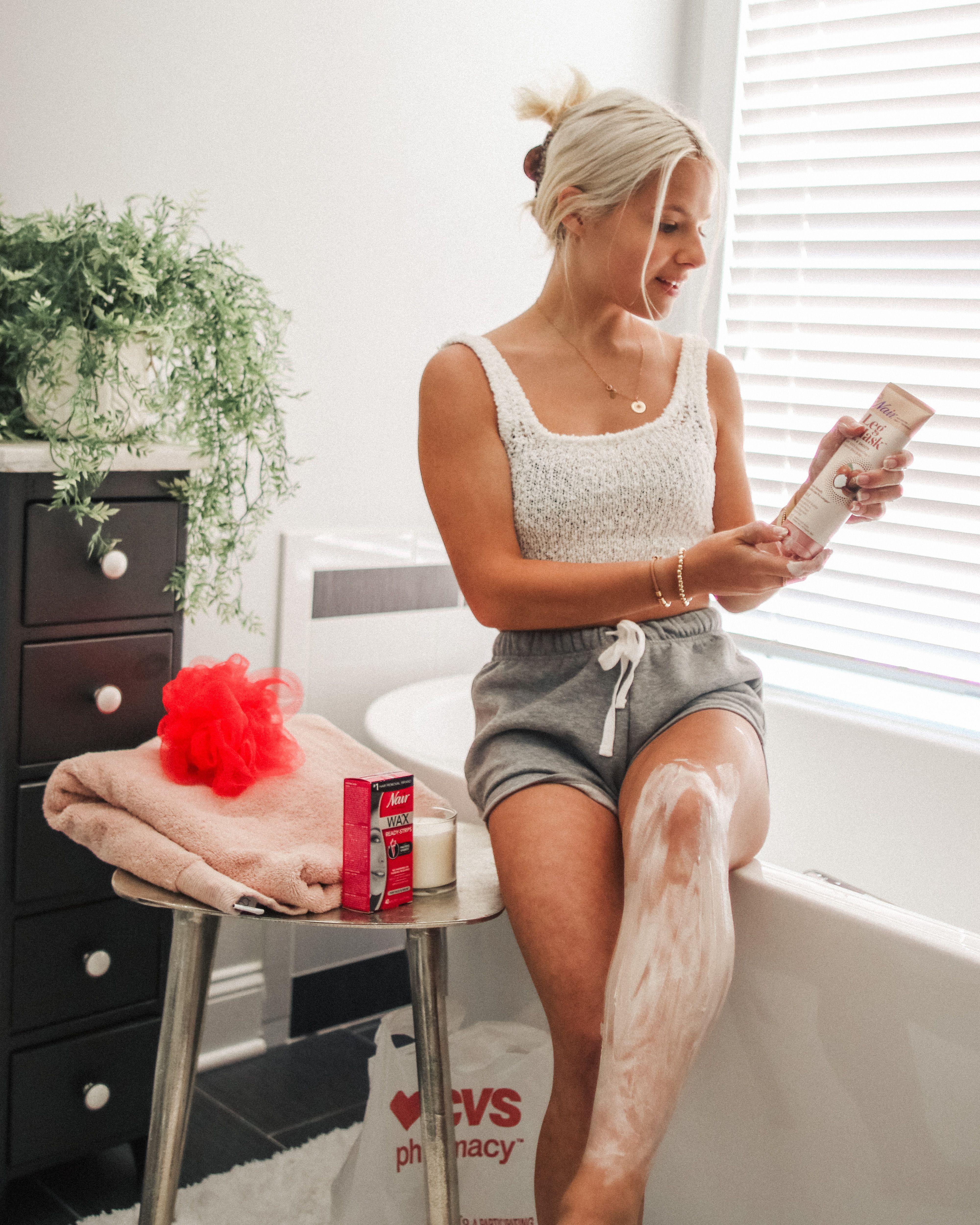 Find nair leg masks and waxready strips at cvs