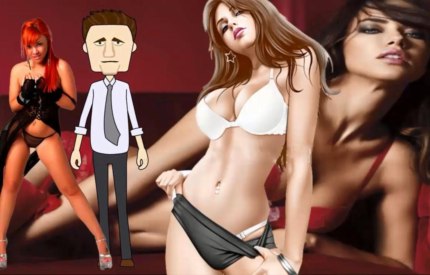смешные эротические мультики девочка лилипут