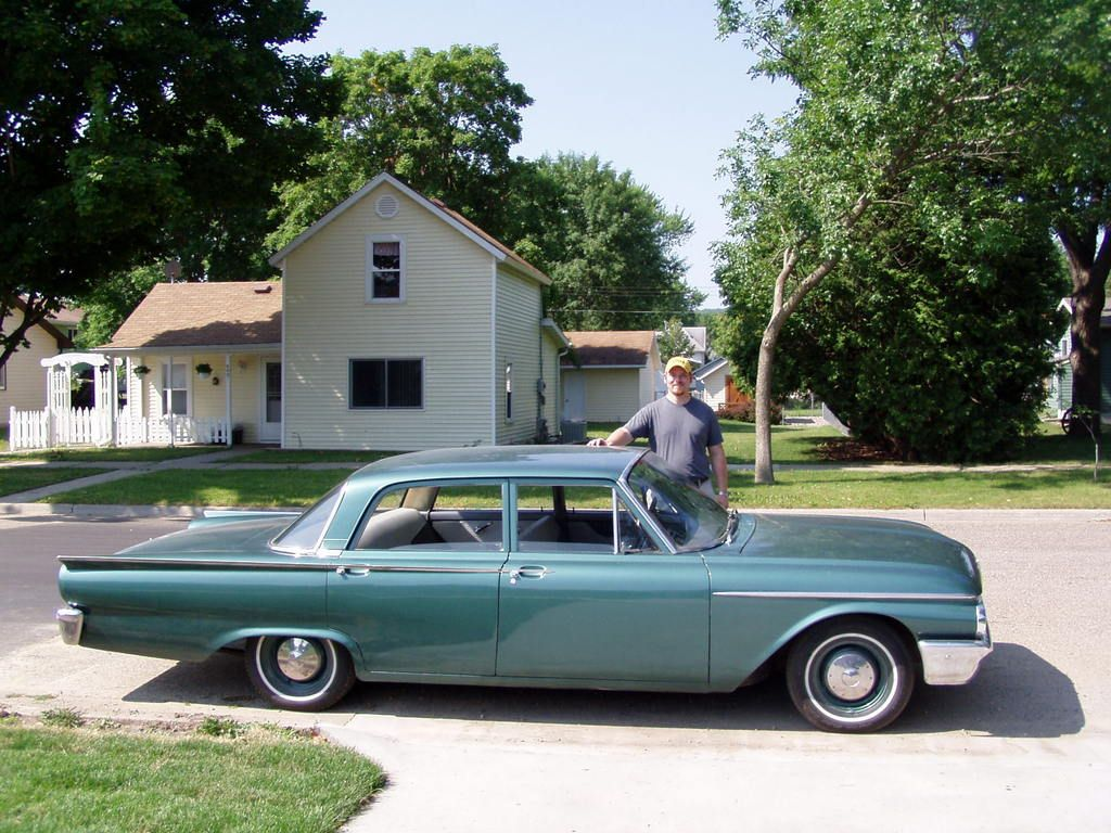 1961 Ford Fairlane 500 Dad Bought One Of These New Ours Was Blue