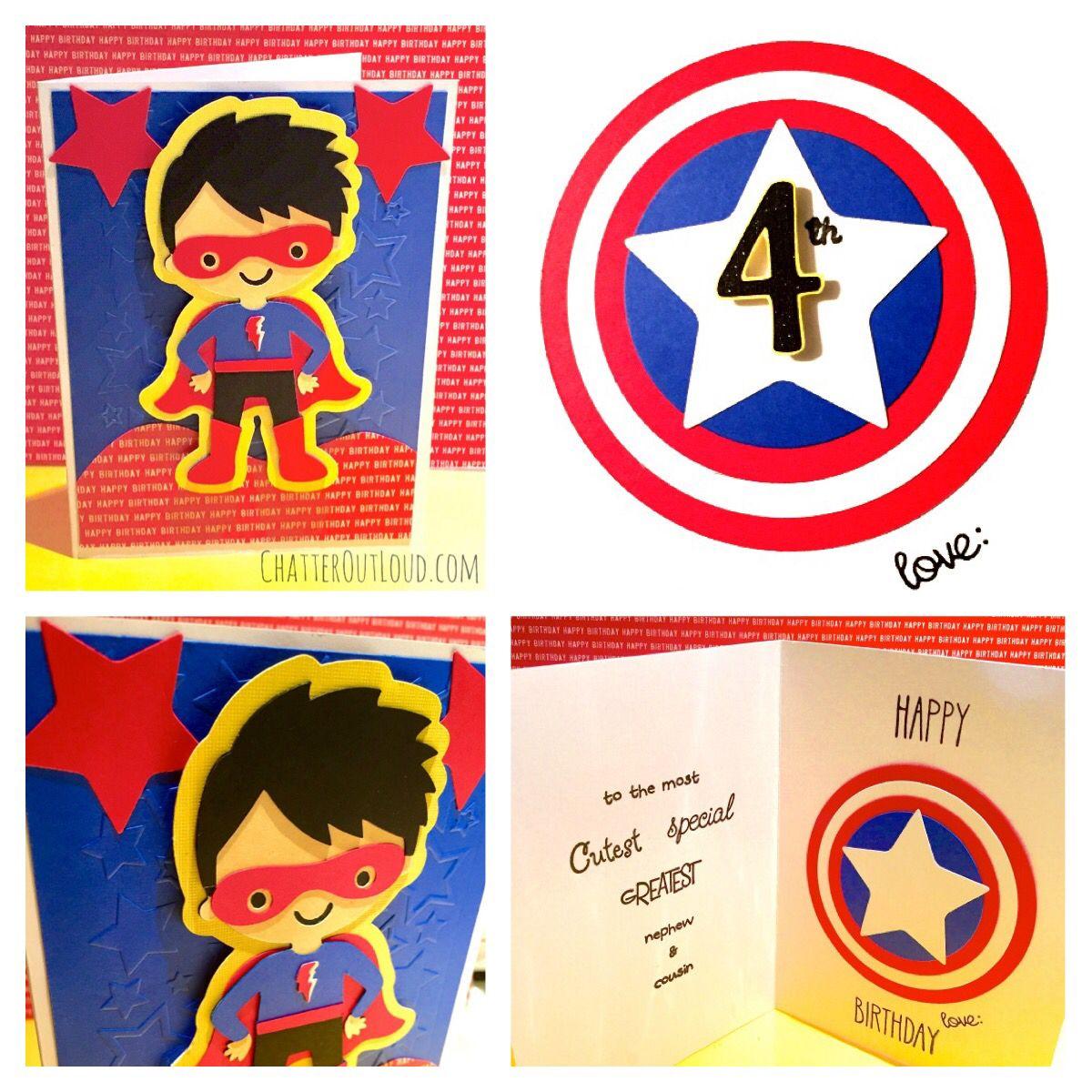 Superhero birthday card star embossing folder cricut create a superhero birthday card star embossing folder cricut create a friend happy birthday kristyandbryce Image collections