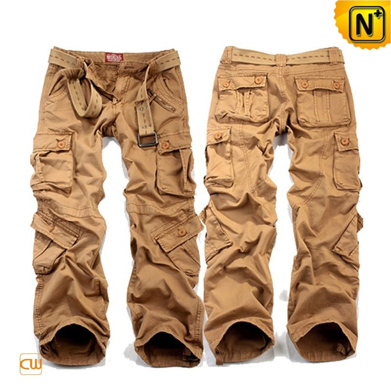 Mens Loose Fit Cargo Pants CW100007 Classic loose fit cargo pants ...